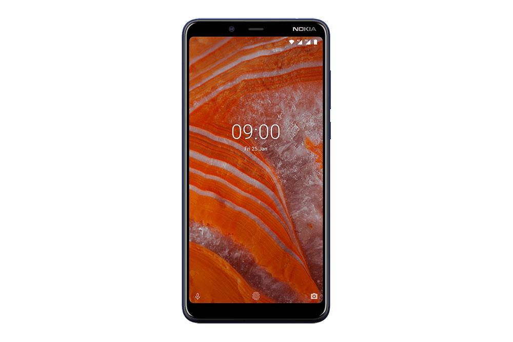Nokia 3.1 Plus вид спереди