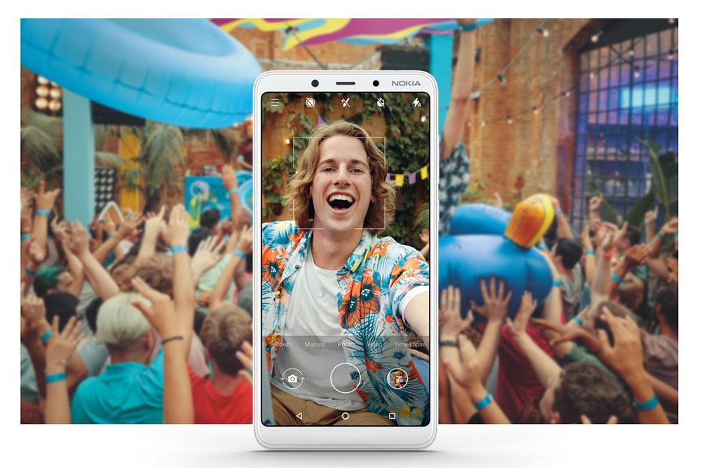 Фото на Nokia 3.1 Plus