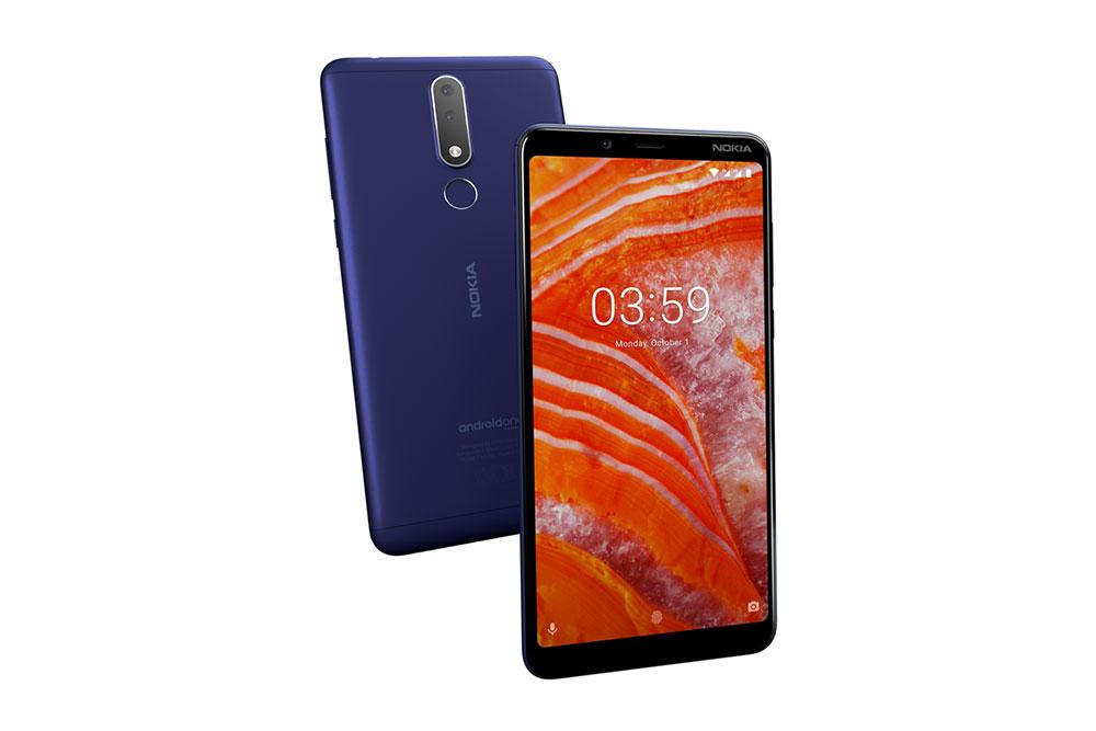 Внешний вид Nokia 3.1 Plus