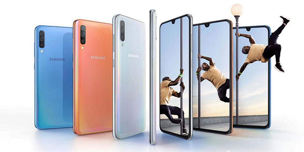 Samsung Galaxy A70 дизайн