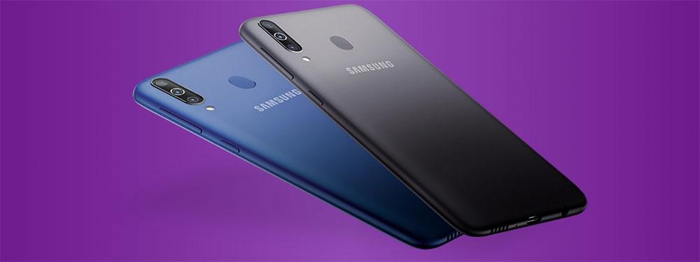 Samsung Galaxy M30 тыльная сторона