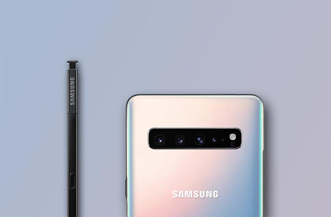 Концепт Samsung Galaxy Note 10