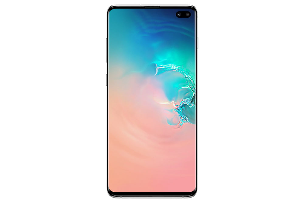 Samsung Galaxy S10 Plus вид спереди