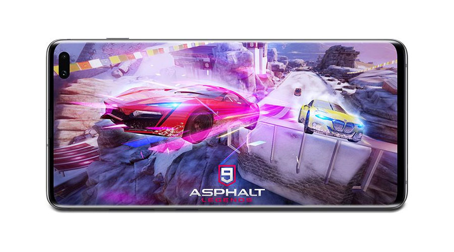 Asphalt 9 на Samsung Galaxy S10 Plus