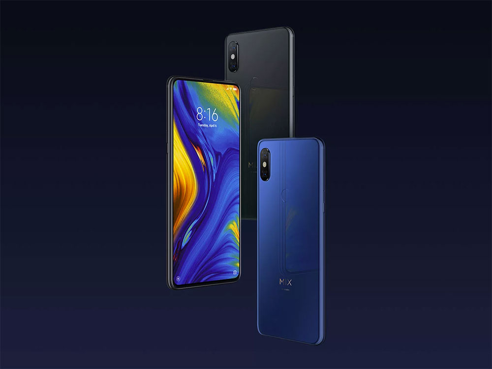 Внешний вид Xiaomi Mi Mix 3