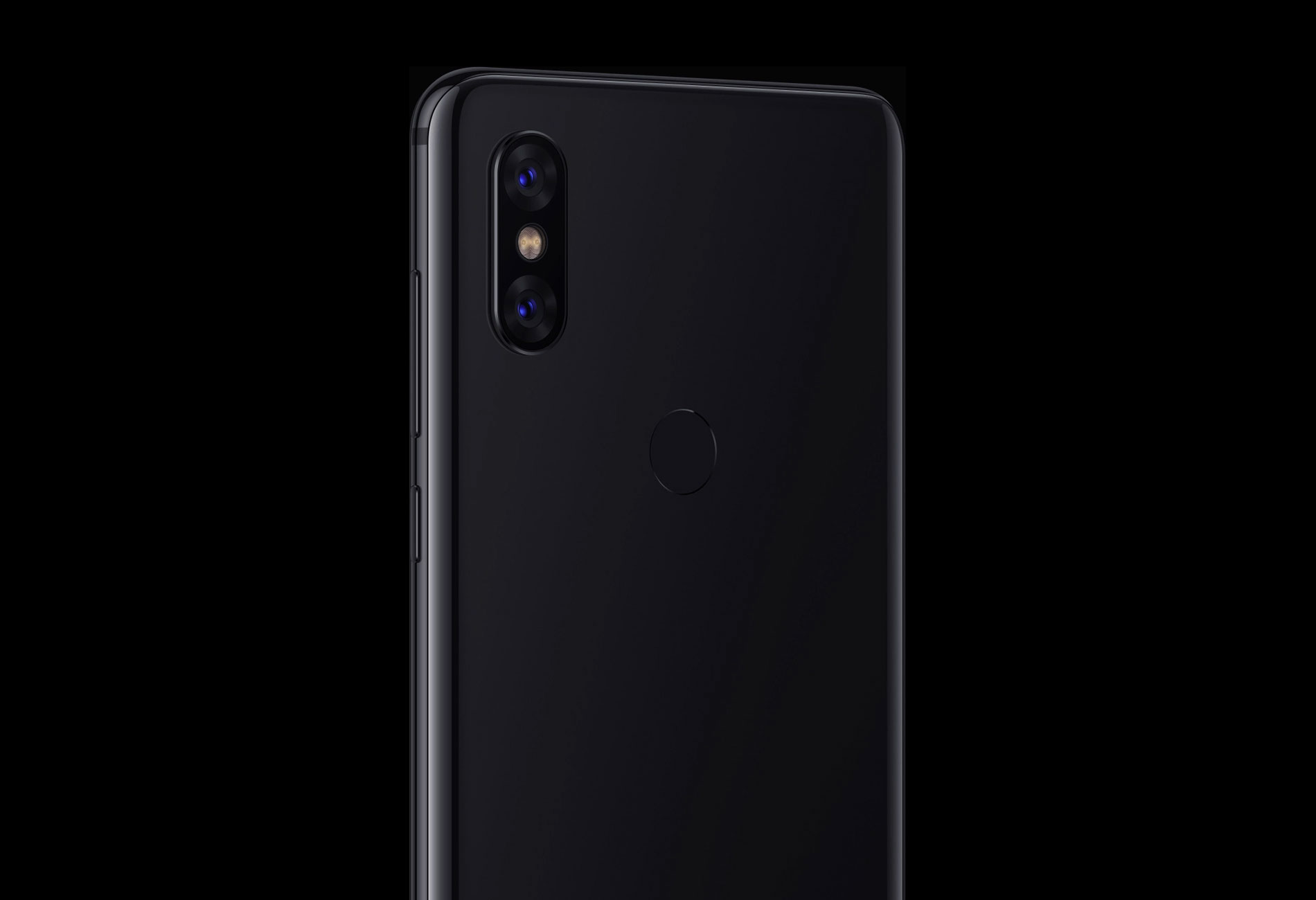 Xiaomi Mi Mix 3 вид сзади