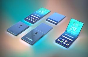 ZTE Foldable Smartphone Patent