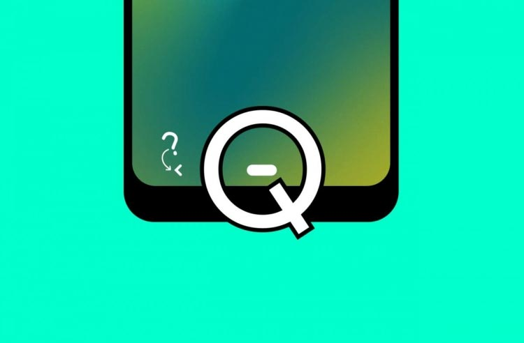 Android Q Deep Press