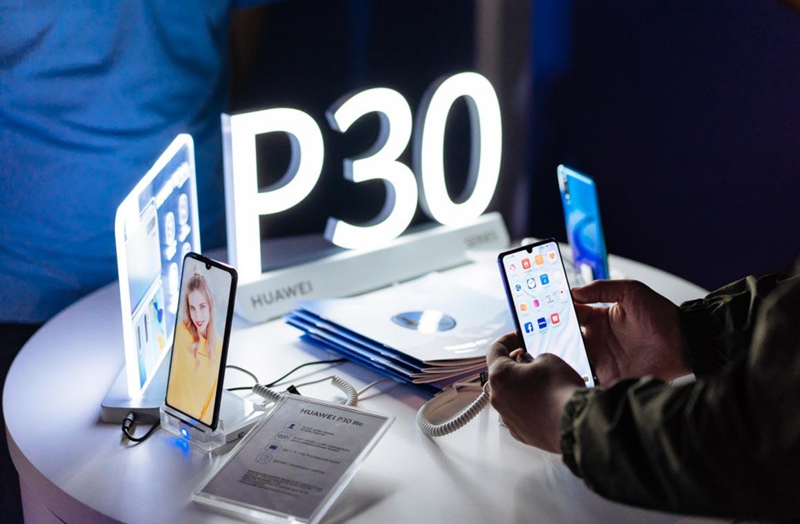 Официальное изображение Huawei P30