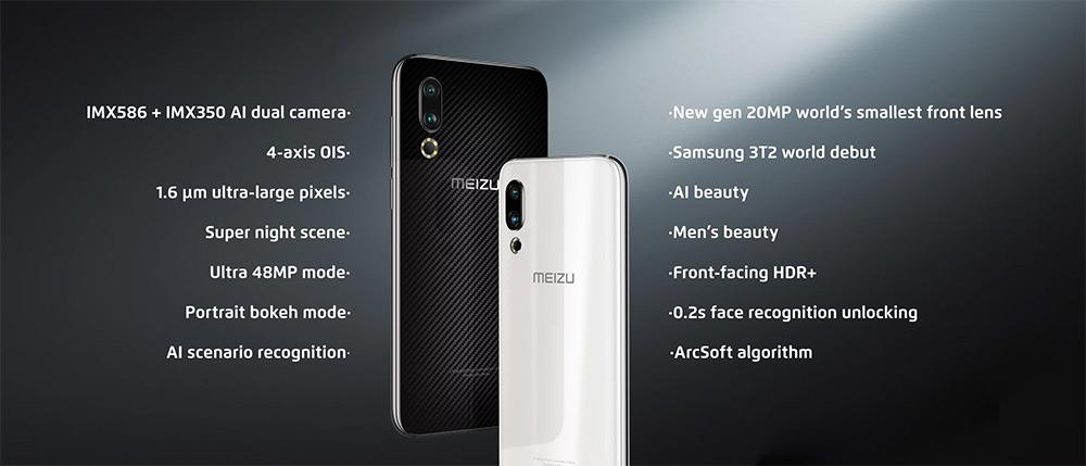 Характеристики Meizu 16s