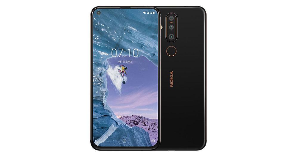 Nokia X71 дизайн