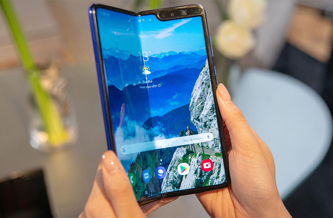 Гибкий Samsung Galaxy Fold