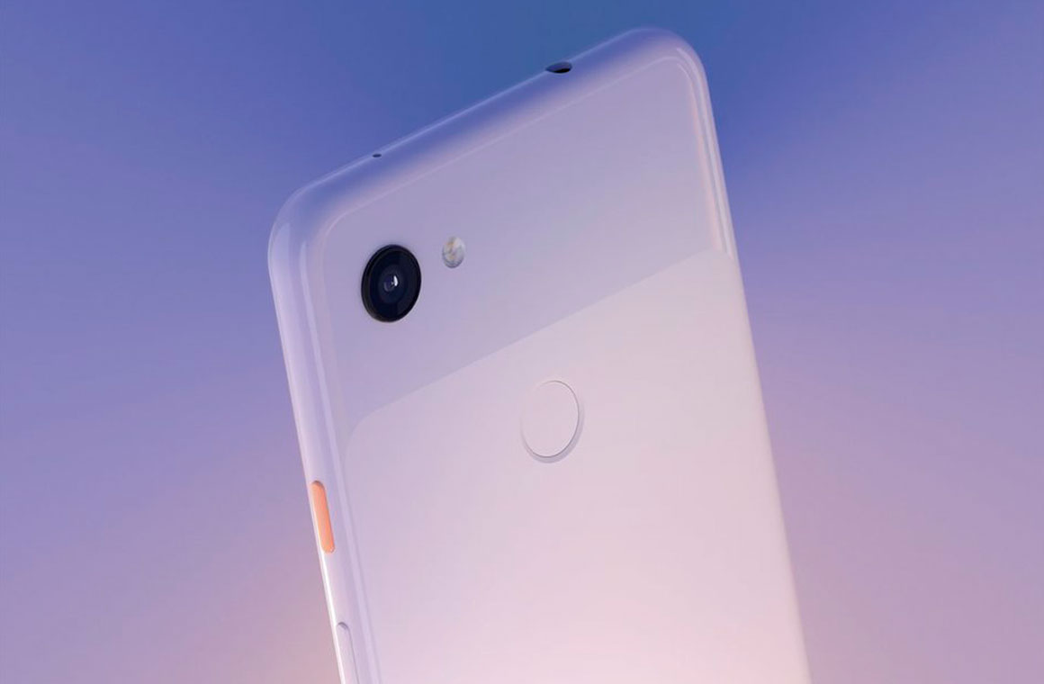 Google Pixel 3a сзади