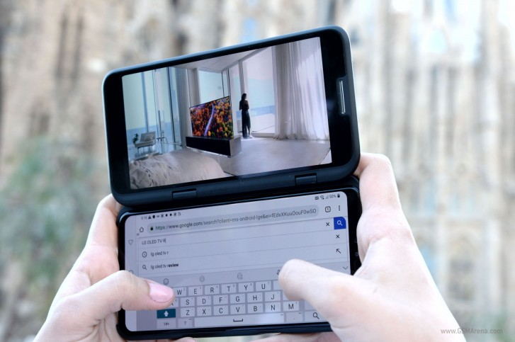 LG V50 ThinQ с двумя экранами