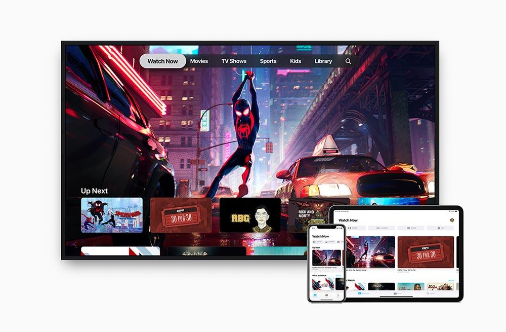 Обновление Apple TV для iOS и tvOS