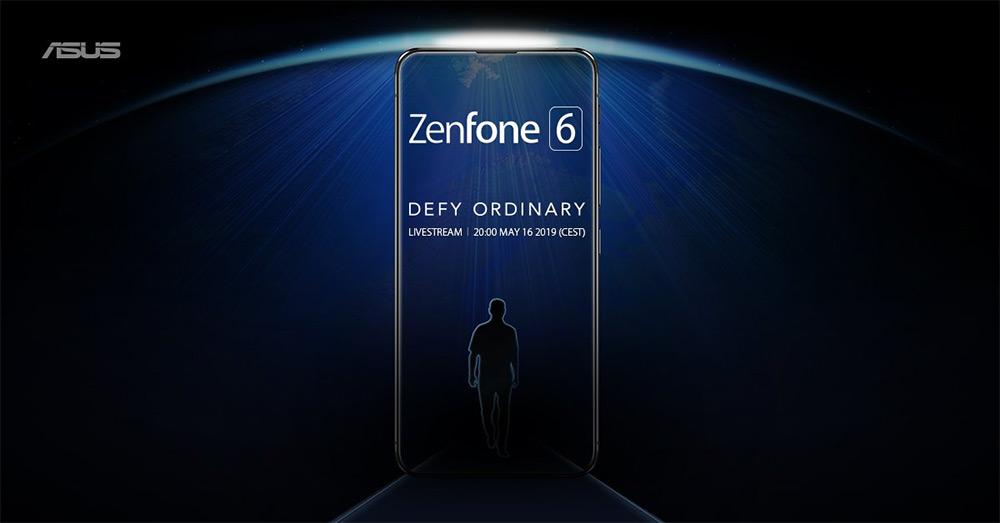 Тизер Asus ZenFone 6