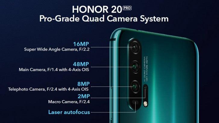 Модуль камеры Honor 20