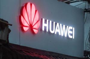 Вывеска компании Huawei