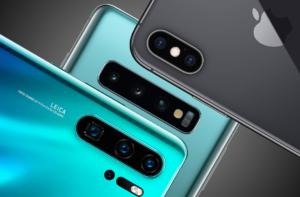Камеры Huawei P30 Pro, Samsung Galaxy S10 Plus, iPhone Xs Max