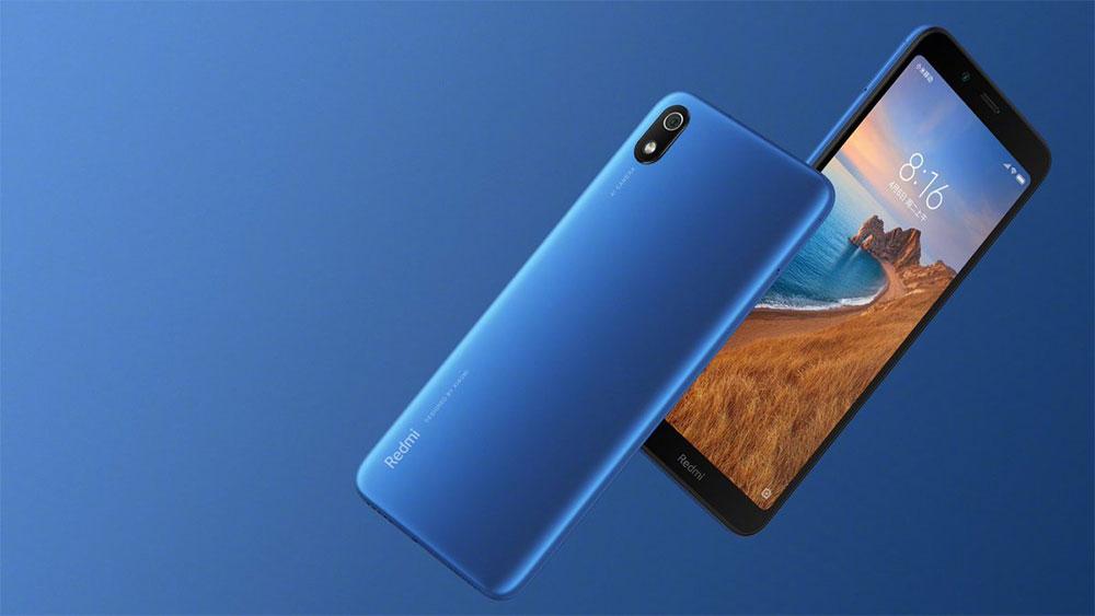 Redmi 7A blue