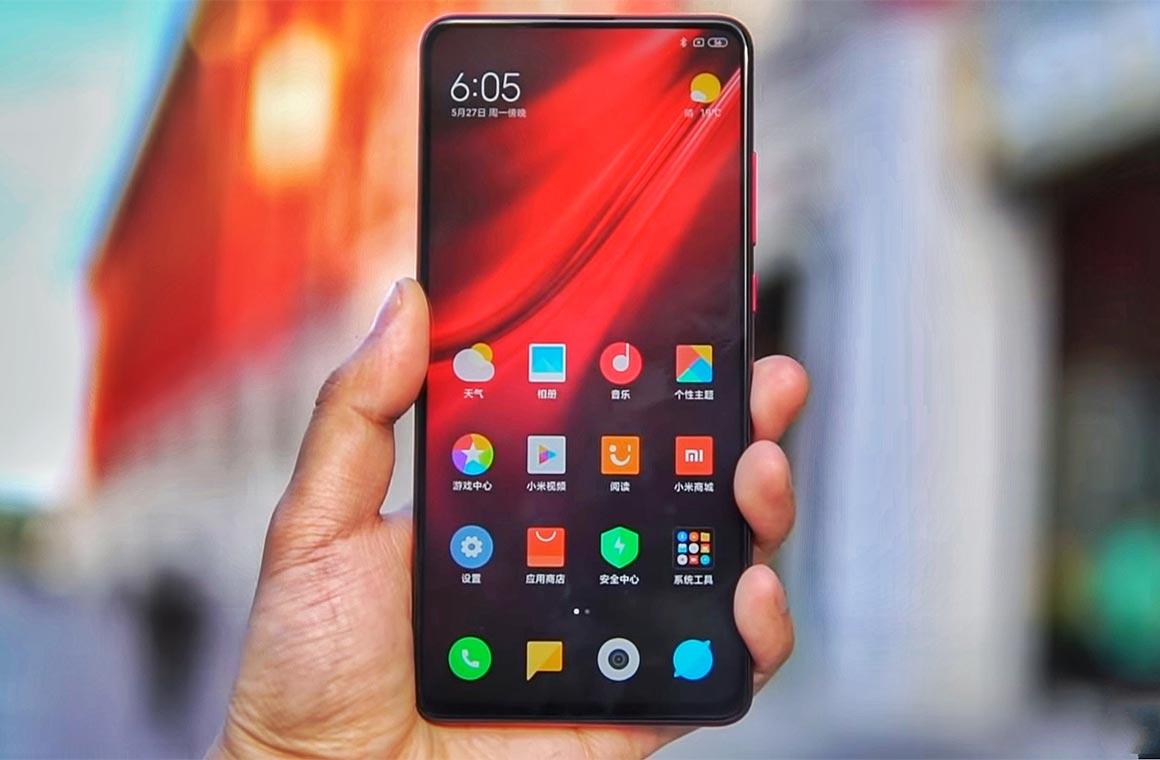 Xiaomi Mi 9T Pro фронтальная панель