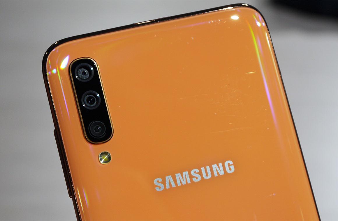 Задняя панель Samsung Galaxy A70s