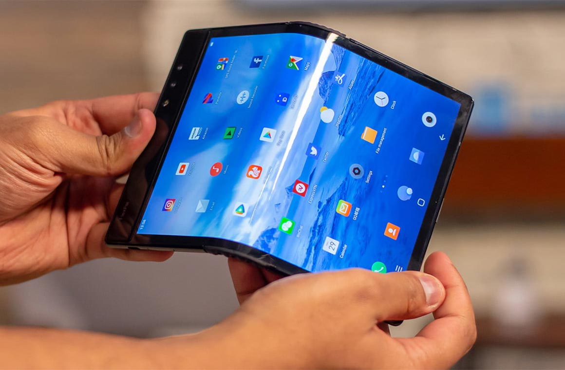 TCL Foldable OLED-screens