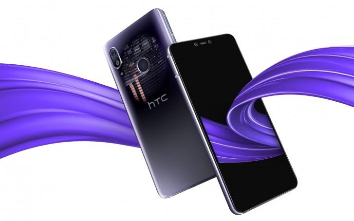 HTC U19E с двух сторон