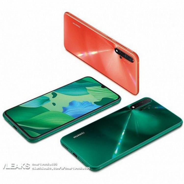 Huawei Nova 5 цвета