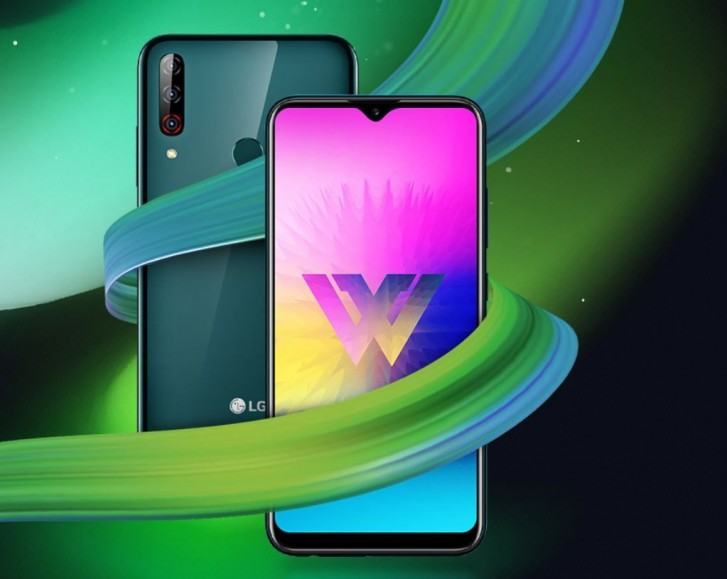 LG W30 Pro с двух сторон
