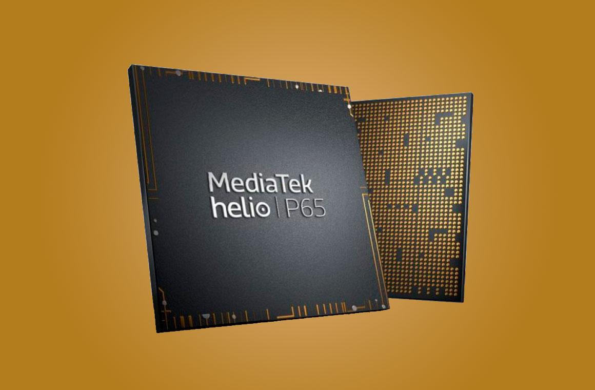 MediTek Helio P65 чип