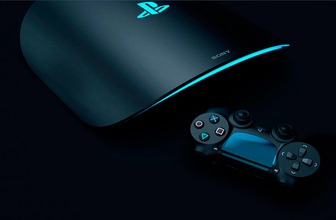 Playstation 5 рендер