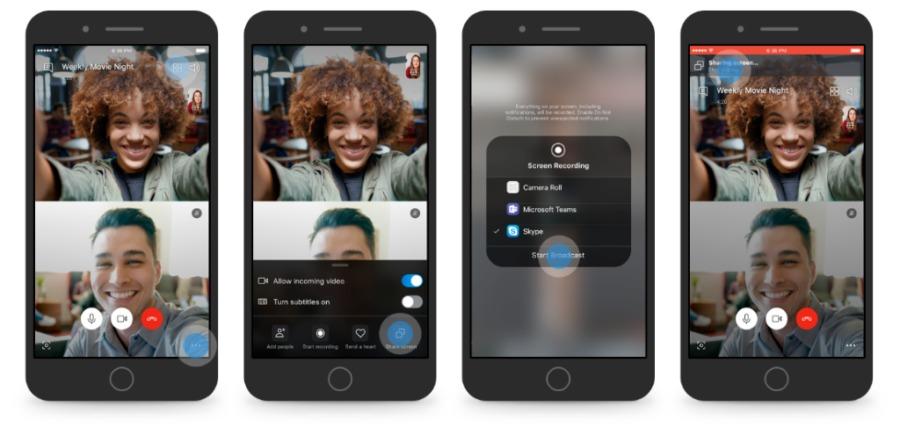 Skype обновление