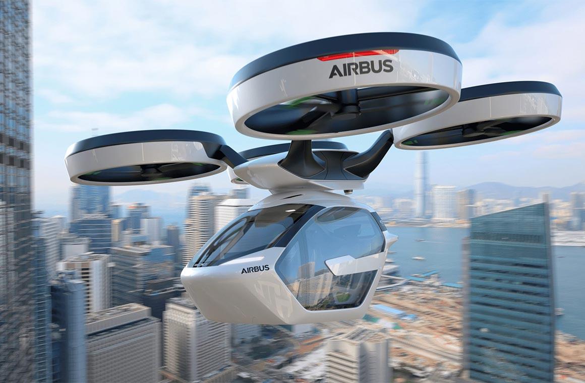 Летающее такси Airbus