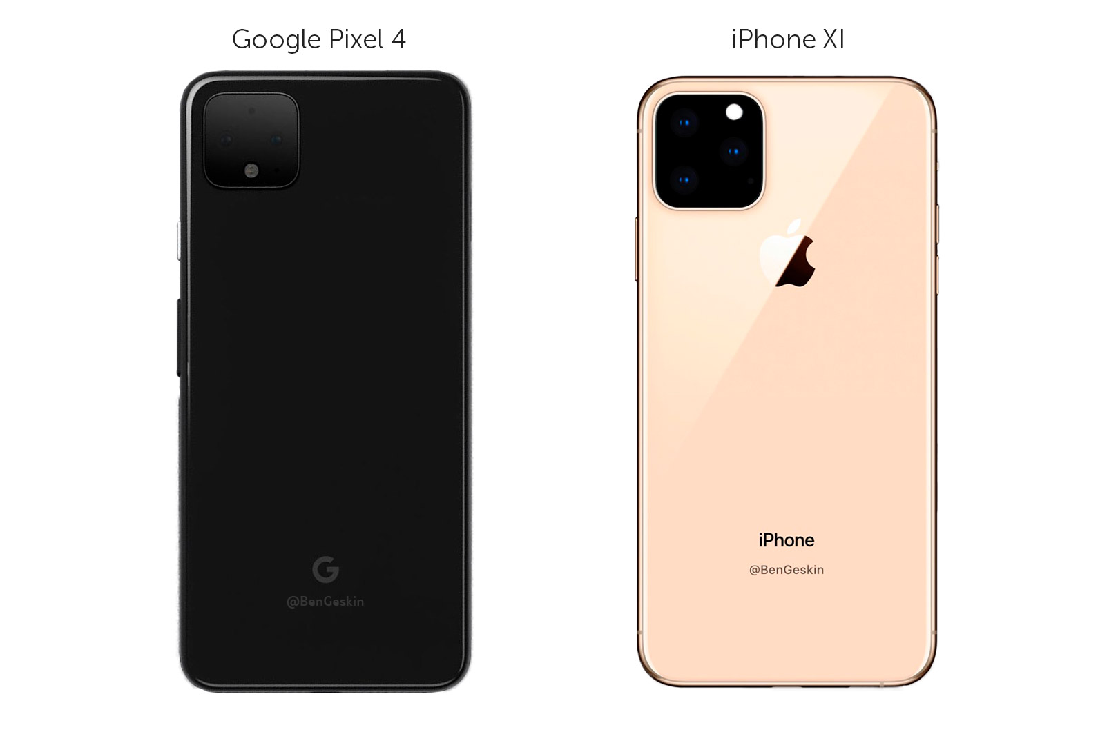 iPhone 11 vs Google Pixel 4