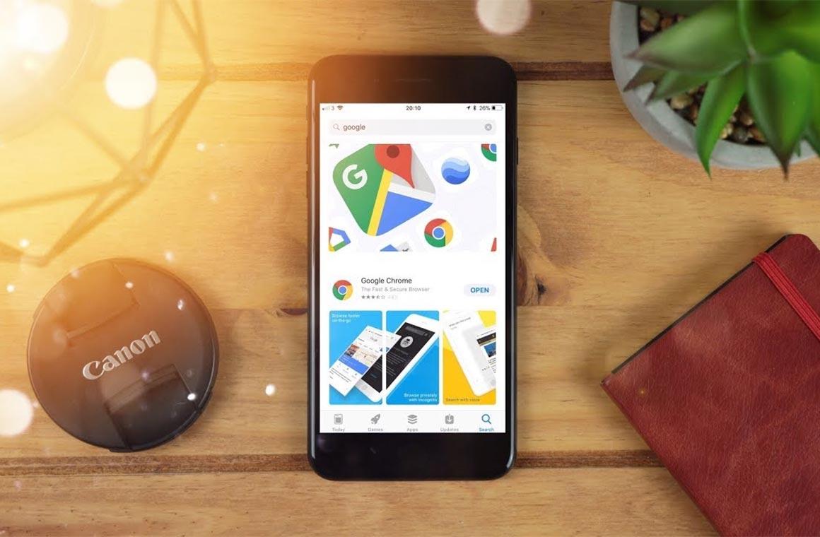 Приложения Google на iPhone
