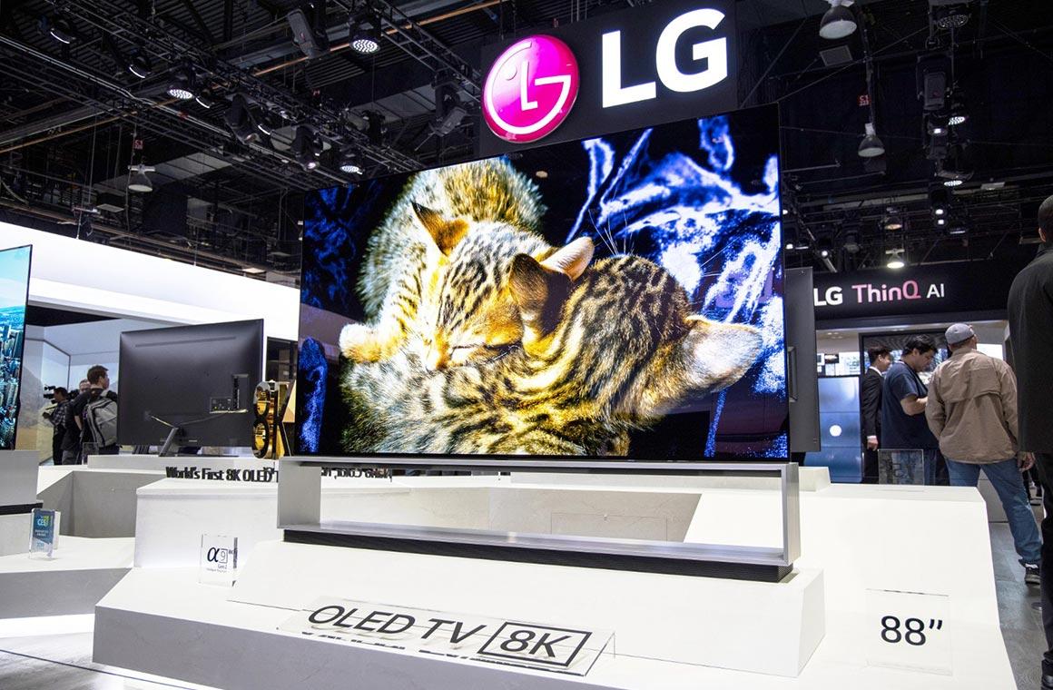 8k-панель от компании LG