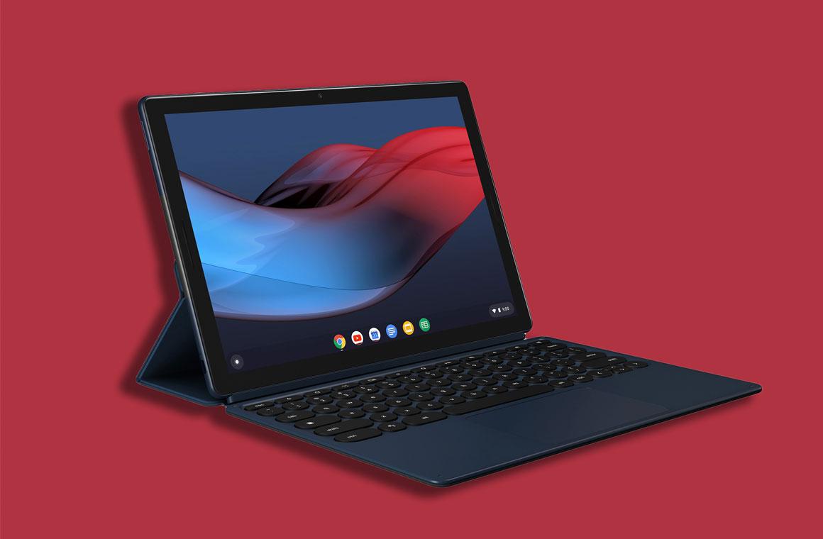 Google Pixel Slate с клавиатурой