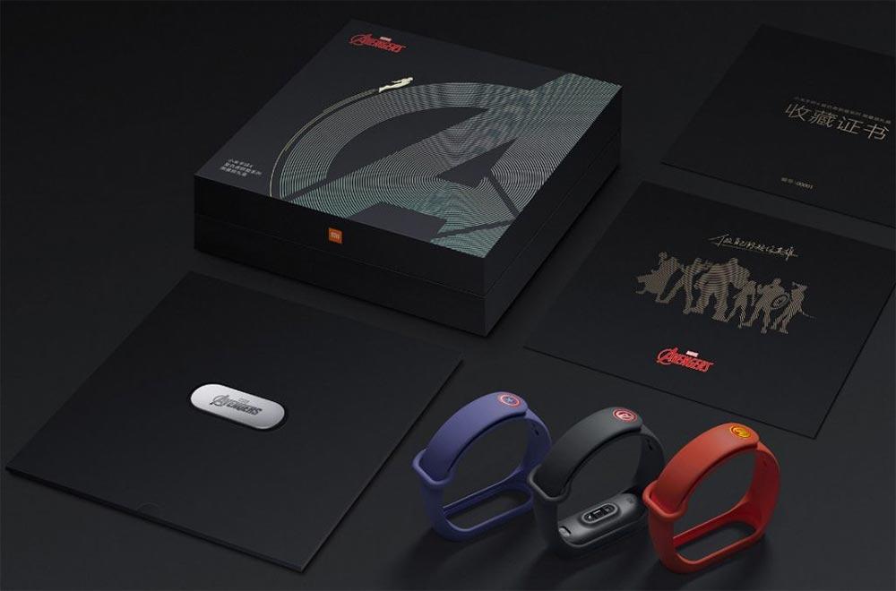 Xiaomi Mi Band 4 Avengers Edition