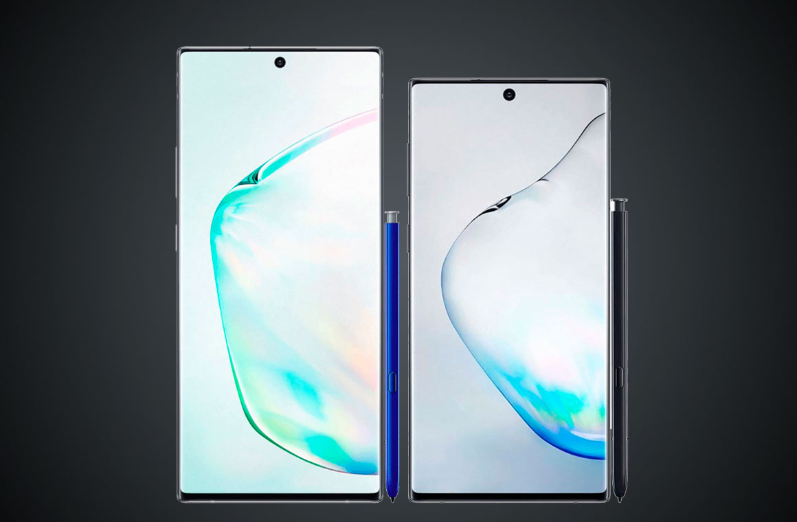 Samsung Galaxy Note10 и Galaxy Note10+
