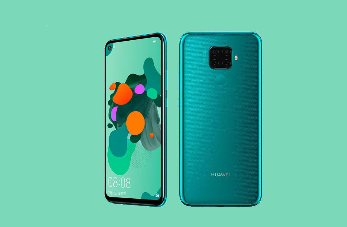 Huawei Nova 5i Pro с двух сторон
