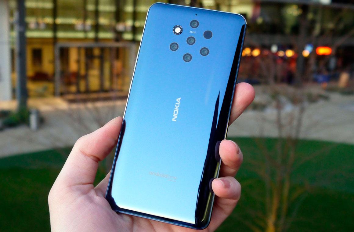 Nokia 9.1 PureView спинка