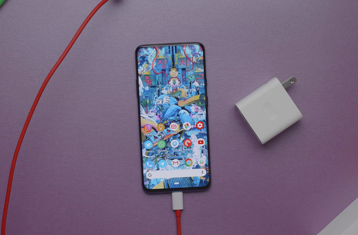 OnePlus 7 pro battery