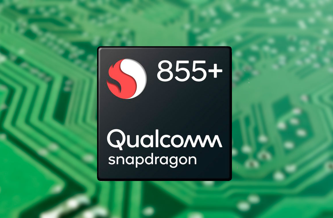 Snapdragon 855 plus лого
