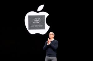 Apple покупает часть Intel