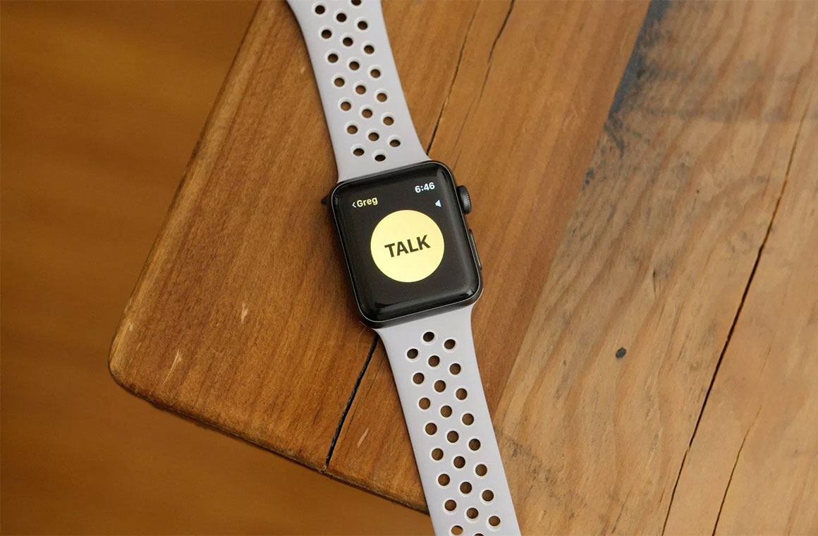 watchOS Walkie-Talkie