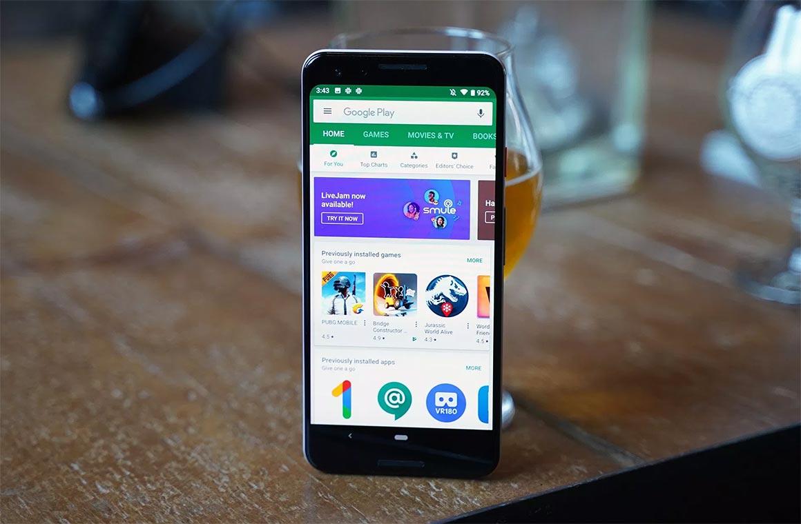 App Store и Google Play