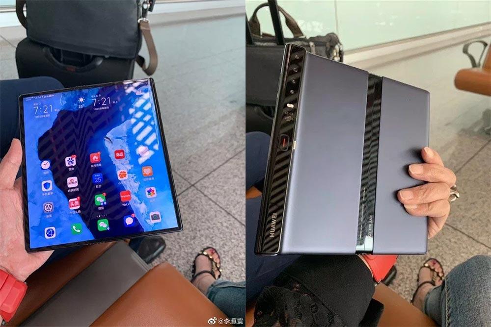 Фотографии Mate X от Huawei