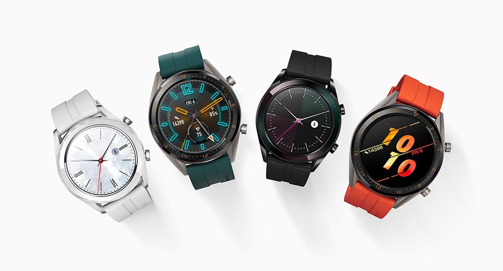 Вся линейка Huawei Watch GT