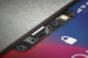 iPhone челка